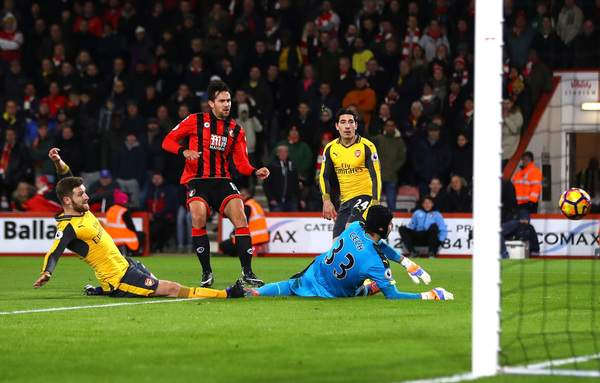 Bournemouth vs Arsenal