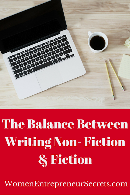 The Balance Between Writing Non-fiction and Fiction