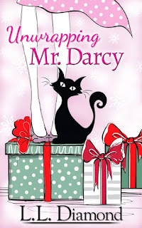 Book cover: Unwrapping Mr Darcy by L L Diamond