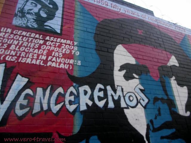 Che Guevara murales de Belfast