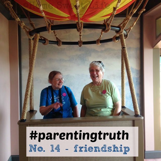 parenting, friendship, long term relationships