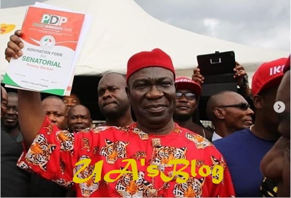 Ekweremadu picks nomination form to return to Senate