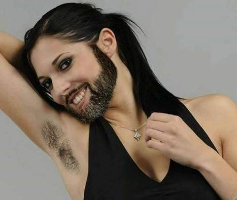 النساء ذوات اللحية او les femmes à barbe .. الاسباب !!