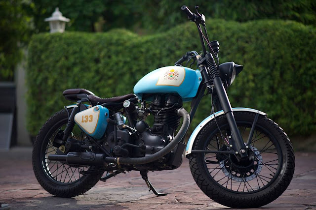 Rajputana Customs Motorcycles Retro 350