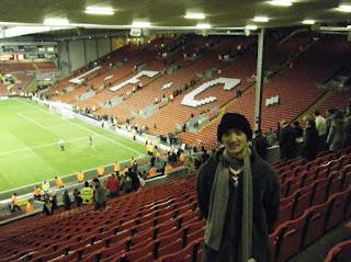 Yuantai at Liverpool Football club