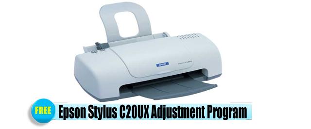 Epson Stylus C20UX Adjustment Program