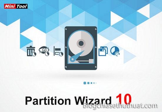 Download MiniTool Partition Wizard Pro 10.2.2 - Chỉnh sửa, quản lý phân vùng