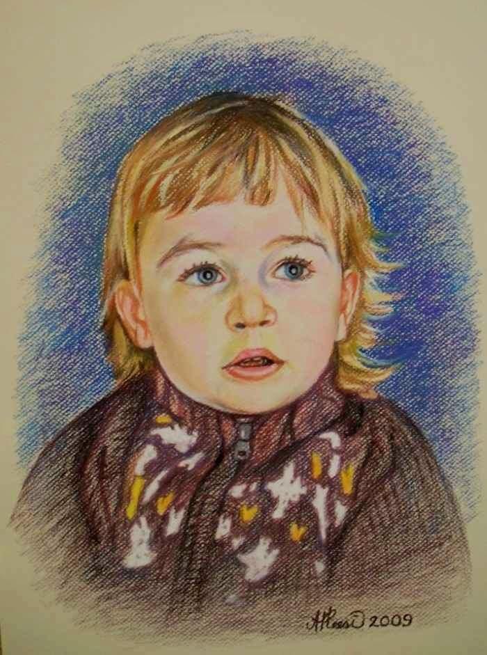 Эстонский художник. Andres Pleesi