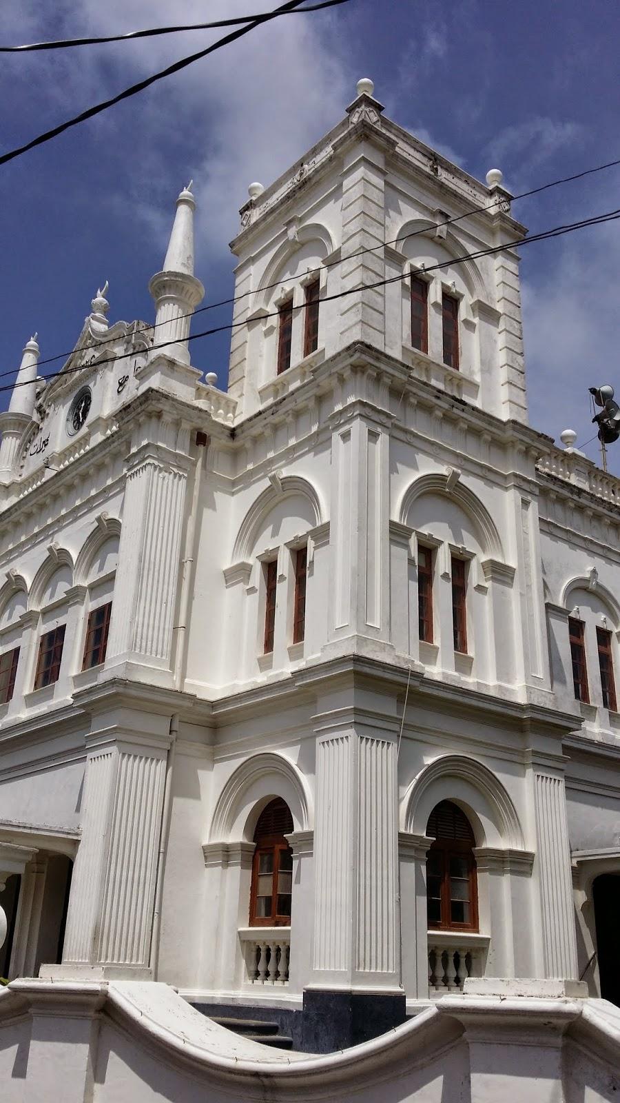 Mezquita Rampart St en Galle (Sri Lanka)