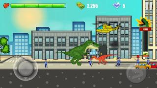 Jurassic: The City Rampage Apk v1.5 Mod (Unlimited Gold/Diamond)
