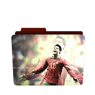 Preview of Christiano Ronaldo, football, Ronaldo, football game, folder icon