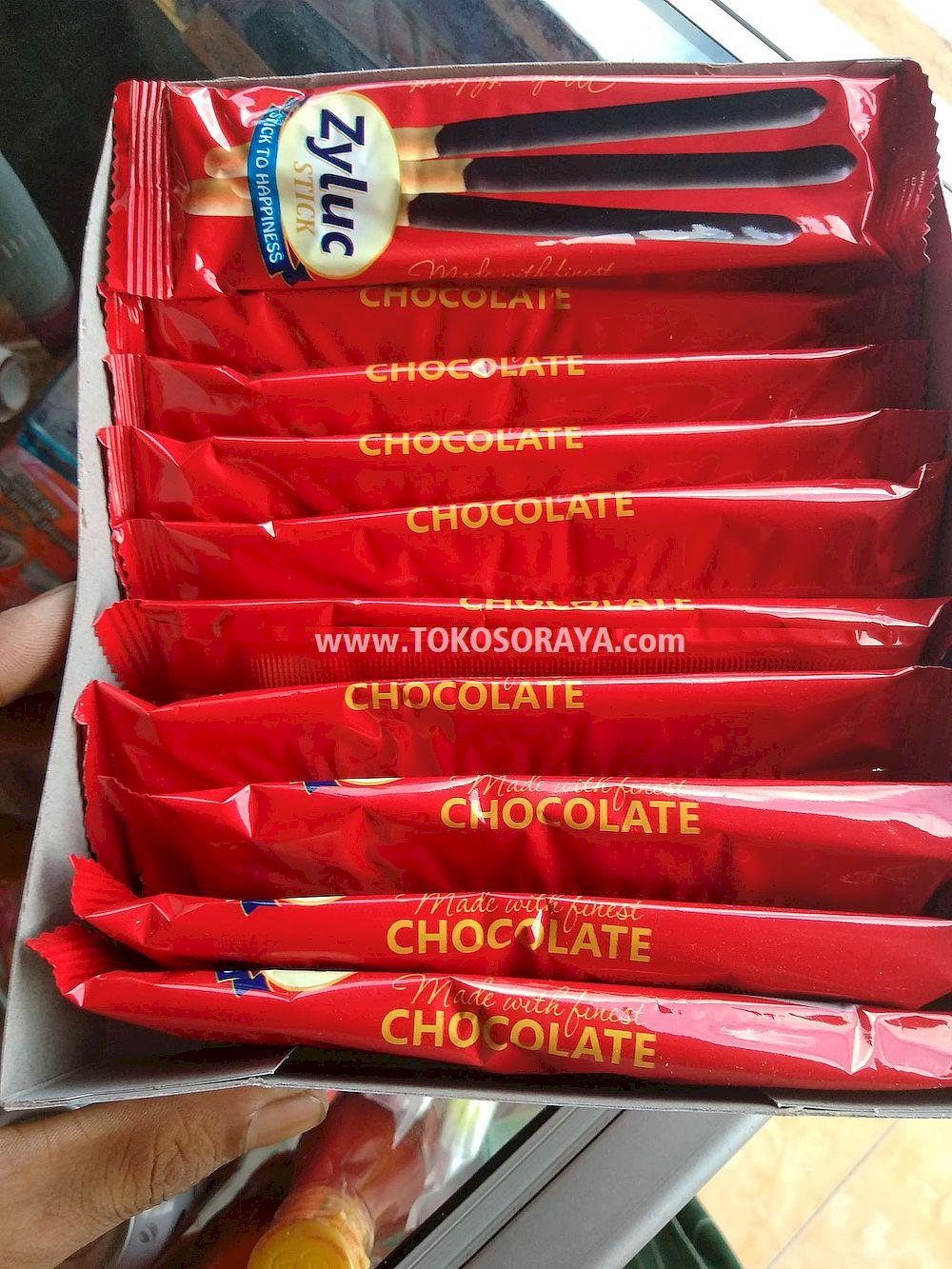 photo produk Zyluc Stick chocolate stick cemilan biskuit