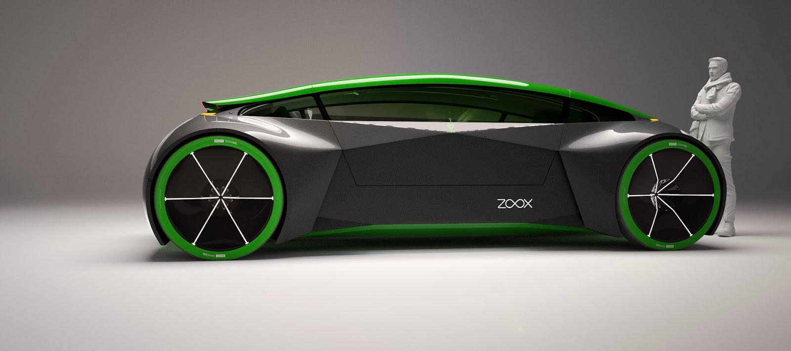 Zoox Reveal Autonomous Bi Directional Electric Vehicle