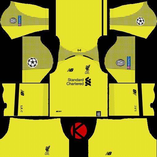 Liverpool FC 2018 19 Kit - Dream League Soccer Kits - Kuchalana 343b11c4e