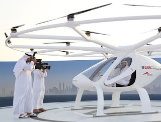 DUBAI LAUNCHES WORLD'S FIRST SELF-FLYING TAXI