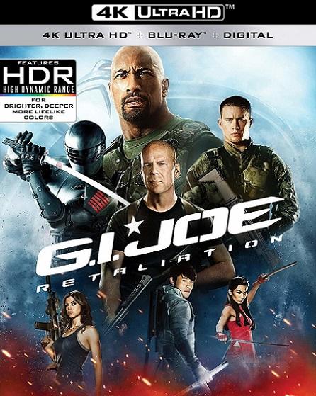 G.I. Joe Retaliation 4K (2013) 2160p 4K UltraHD HDR BluRay REMUX 45GB mkv Dual Audio Dolby TrueHD ATMOS 7.1 ch