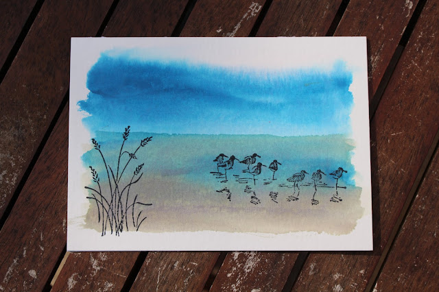 Aqua Painters, Ink Refills, Wetlands Stamp Set, Stampin' Up!