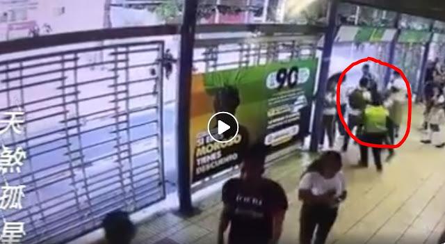 Terobos Loker Pembayaran, Nasib Pria Ini Sial, Sudah Lompat Malah Ditabrak Bus