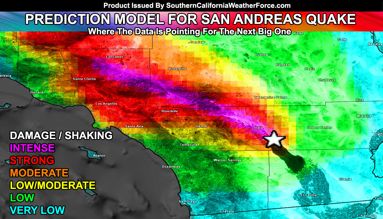 NESARA- REPUBLIC NOW - GALACTIC NEWSBreaking The Code: Models Predict Next Rupture Point of San Andreas Fault Earthquake