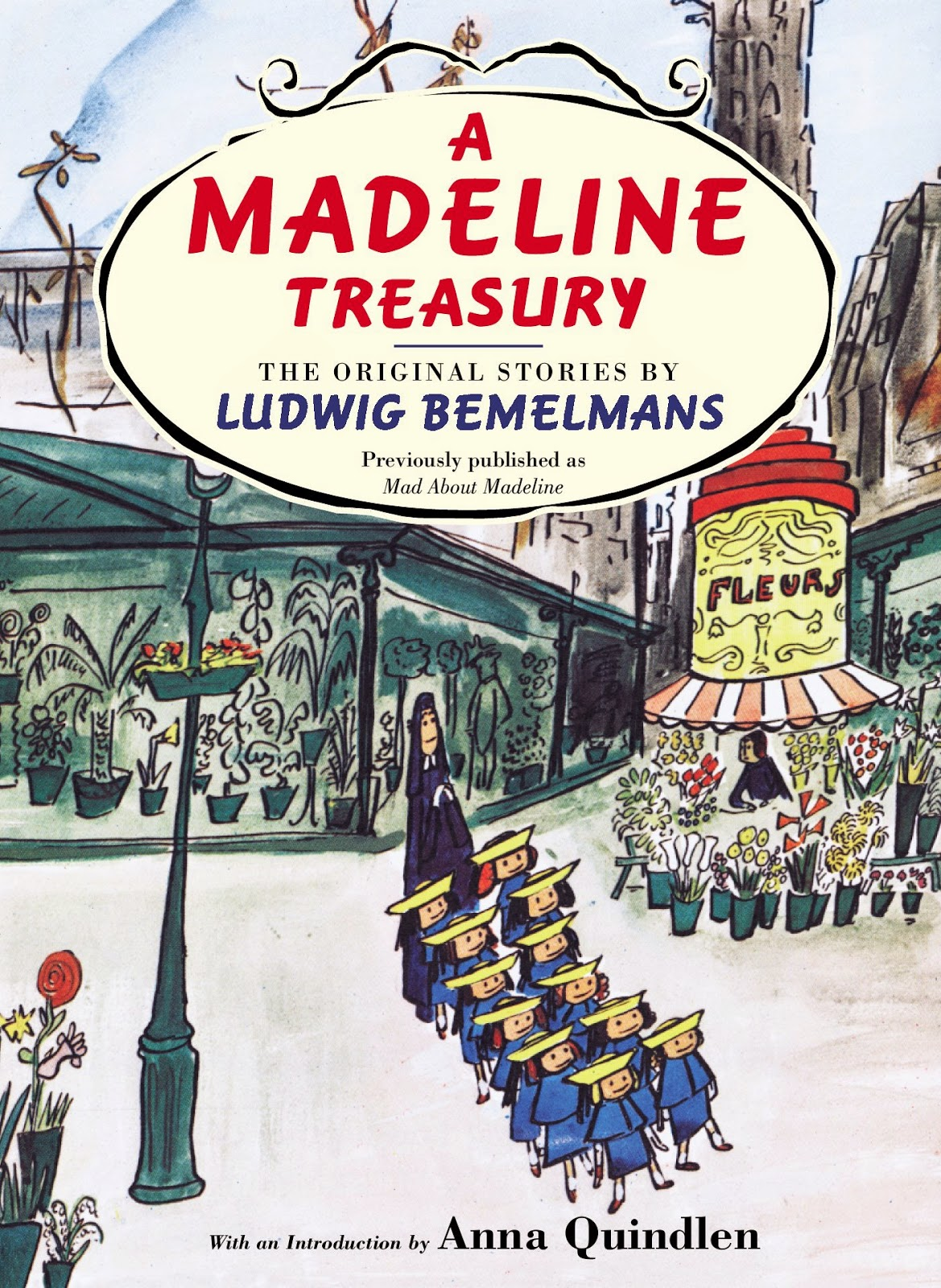 Madeline Treasury, part of children's book review list about France