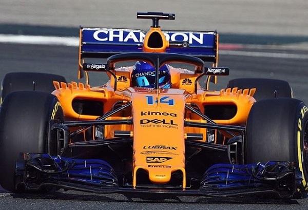 McLaren MCL33 Fórmula 1 2018