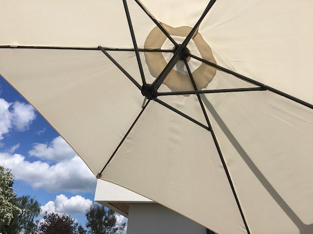 von haus banana parasol canopy