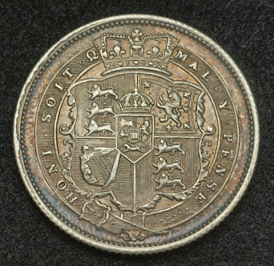 World Coins British shilling coin