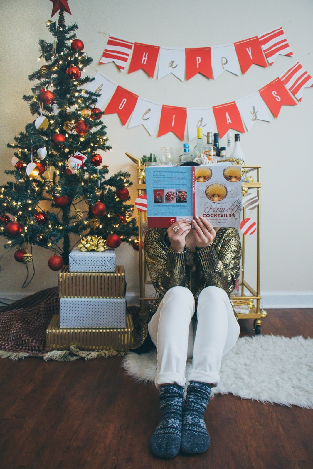 holiday home decor with minted giveaway gracefullee made