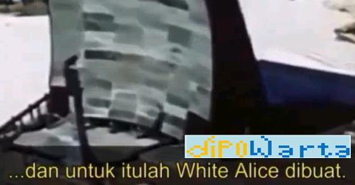 Menguak Teknologi White Alice merupakan episode ke-20 dari serial Konspirasi Bumi Datar
