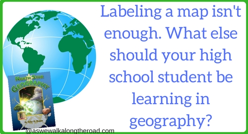 What high school students should be learning in geography