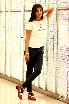 Hong Kong Fashion & Beauty Blogger Anamika Chattopadhyaya sporting FSJ Shoes Women's full brogue oxford shoes