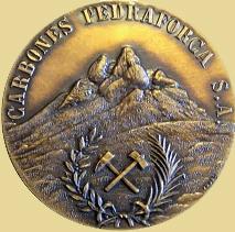 Medalla del 50 Aniversario de Carbones Pedraforca, 1983