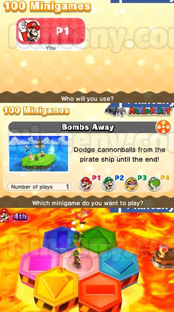 Mario Party The Top 100 Cia USA - EUR