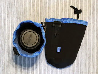 Potensic レンズポーチ Lサイズ + Canon EF-S18-135mm F3.5-5.6 IS USM