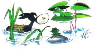 el asno y las ranas samaniego