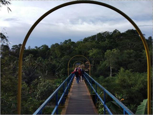 Tempat Wisata Talang Fajaresuk Kota Pringsewu mulai di Minati Masyarakat