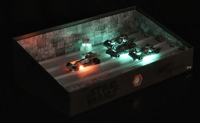San Diego Comic-Con 2016 Exclusive Star Wars Death Star Trench Run Hot Wheels Box Set