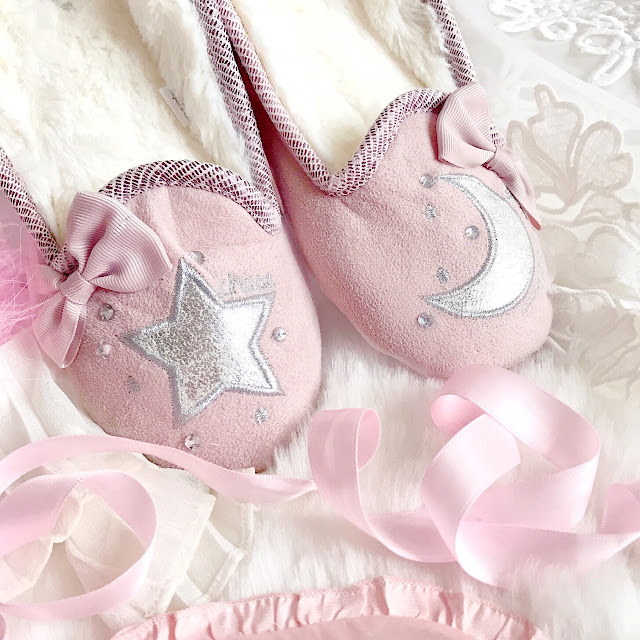 Love, Catherine | Pretty You London, Perdita Pink Slippers