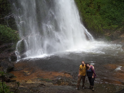 waterfall love in Sapa