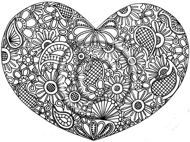 Free Printable Advanced Coloring Pages High Skill Image