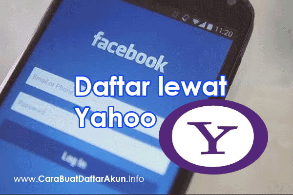 Cara Daftar FACEBOOK LEWAT YAHOO di HP Android