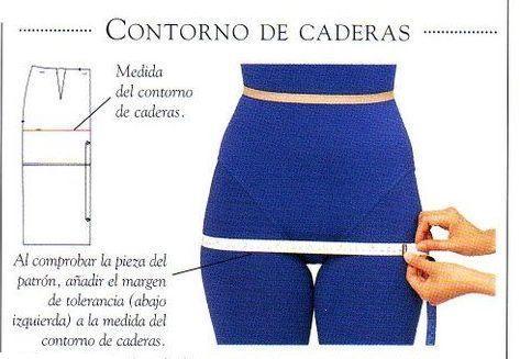 cintura y cadera como medir