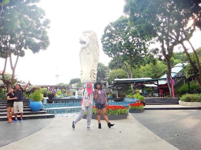 lokasi foto di Sentosa Island Singapore