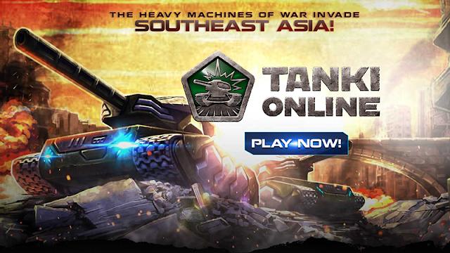 PlayPark Tanki Online Opens Southeast Asia Server Games : PlayPark Tanki Online Opens Southeast Asia Server