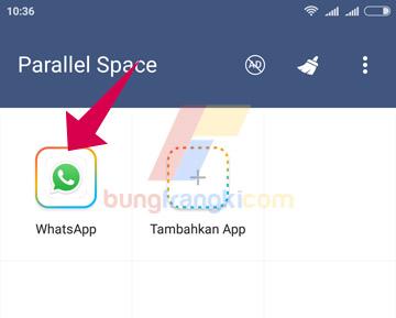 Cara menggandakan apk di hp Android dengan Parallel Space