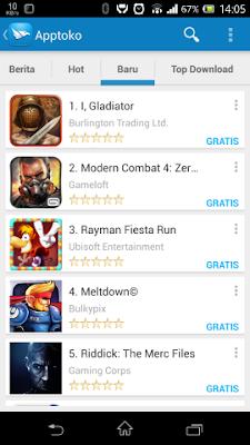 Apptoko app free market