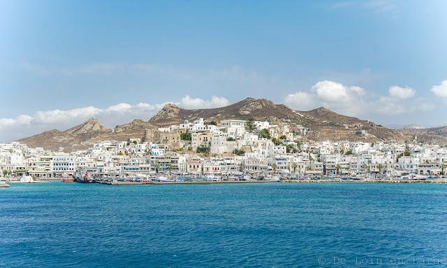 Chora de Naxos-Cyclades-Grèce