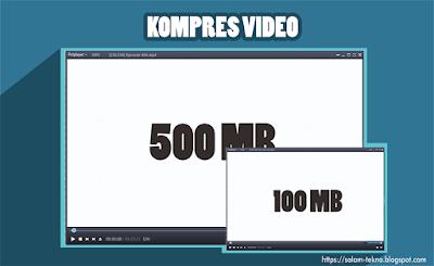 Cara kompres ukuran video