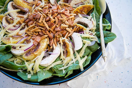 Almond Ilma Zhar Salad Recipe photo by Amazing Almonds