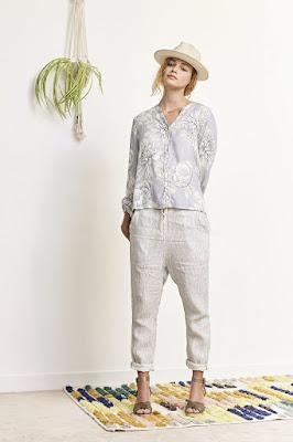 pantalon blanc Orson Elsa Esturgie